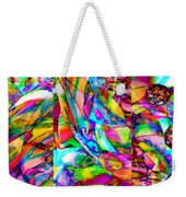 Welcome To My World Triptych Horizontal Weekender Tote Bag