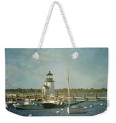 Welcome To Nantucket Weekender Tote Bag