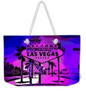 Welcome To Vegas No.2 Weekender Tote Bag