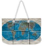 Well Worn World Weekender Tote Bag