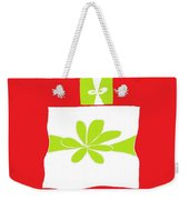 Welsh Merry Christmas Red Weekender Tote Bag