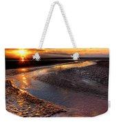 Welsh Sunset Weekender Tote Bag