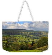 Wensleydale Near Westholme Bank In The Yorkshire Dales Weekender Tote Bag