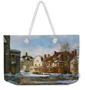 West Ferry Street Weekender Tote Bag