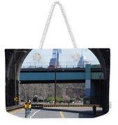 West River Drive Philadelphia Weekender Tote Bag