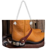 Western Boots And Spurs Weekender Tote Bag