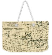 Western Canada And The Five Great Lakes Weekender Tote Bag