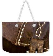 Western Chaps Detail Weekender Tote Bag