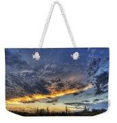 Western Skies  Weekender Tote Bag