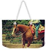 Western Sorrel Weekender Tote Bag