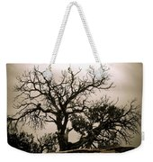 Western Winter Tree Weekender Tote Bag