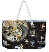 Westinghouse Ad, 1925 Weekender Tote Bag by Granger
