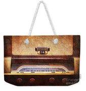 Westinghouse Fm Rainbow Tone Radio Weekender Tote Bag