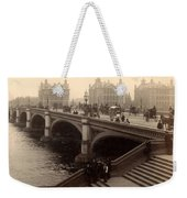 Westminster Bridge - London - C 1887 Weekender Tote Bag