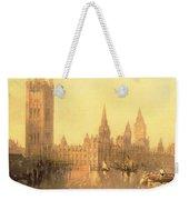Westminster Houses Of Parliament Weekender Tote Bag