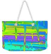Wet Drippy Paint Weekender Tote Bag