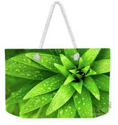 Wet Foliage Weekender Tote Bag