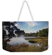 Wetlands - Oil Painting Effect Weekender Tote Bag