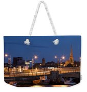 Wexford Harbour At Dusk Weekender Tote Bag