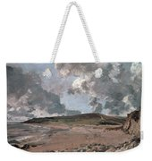 Weymouth Bay With Jordan Hill Weekender Tote Bag by John Constable