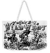 W.f. Cody Poster Weekender Tote Bag