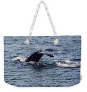 Whale Dive Weekender Tote Bag
