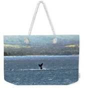 Whale Tail I Weekender Tote Bag