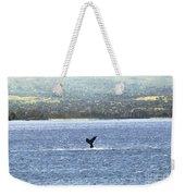 Whale Tail II Weekender Tote Bag