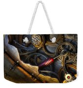 What Gear Am I In You Might Ask Weekender Tote Bag by Bob Christopher