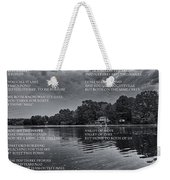 What Is This Place Weekender Tote Bag