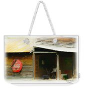 Whats Left Of Fifty's Store Front Weekender Tote Bag