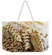 Wheat Ears And Grain Weekender Tote Bag by Elena Elisseeva