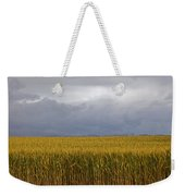Wheat Field And Storm Weekender Tote Bag