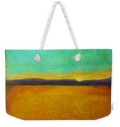Wheat Field At Sunset Weekender Tote Bag