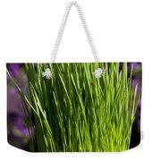 Wheat Grass Weekender Tote Bag