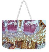Wheat Rust Puccinia Graminis Weekender Tote Bag
