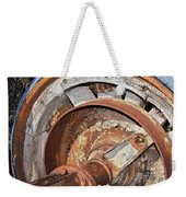 Wheel And Axle Weekender Tote Bag