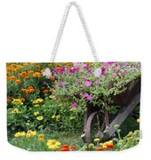 Wheel Of Color Weekender Tote Bag
