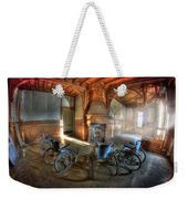 Wheel Up The Four Weekender Tote Bag