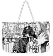 Wheelchair, 1886 Weekender Tote Bag