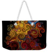 Wheels Keep On Turning Weekender Tote Bag