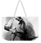 Wheelwright, 19th Century Weekender Tote Bag