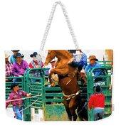 When Cowboys Take Notice Weekender Tote Bag