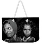 When Mother Smiles Weekender Tote Bag