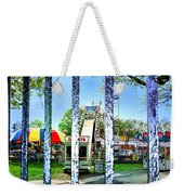 When The Carnivale Came To Town Weekender Tote Bag