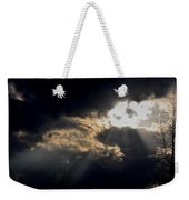 When The Night Has Come Weekender Tote Bag