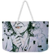 Where Does The Next Piece Go? Weekender Tote Bag