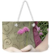 Where Have All The Flowers Gone Weekender Tote Bag by Angelina Vick