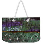 Where Many Are Gathered Weekender Tote Bag by Angela L Walker