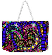 Where The Life Goes Weekender Tote Bag